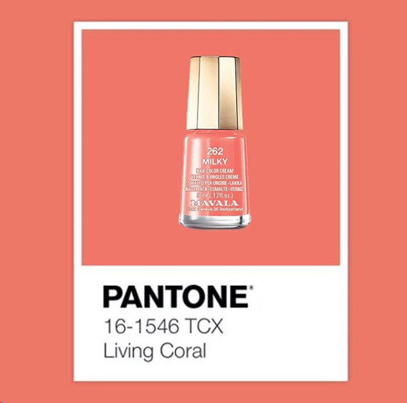 Pantone colour of the year – Living Coral