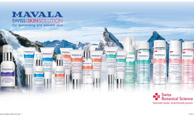 New Swiss Skincare Website