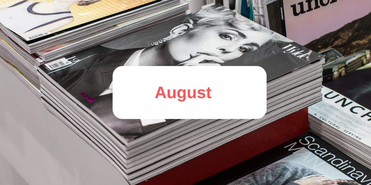 In the press: August 2019