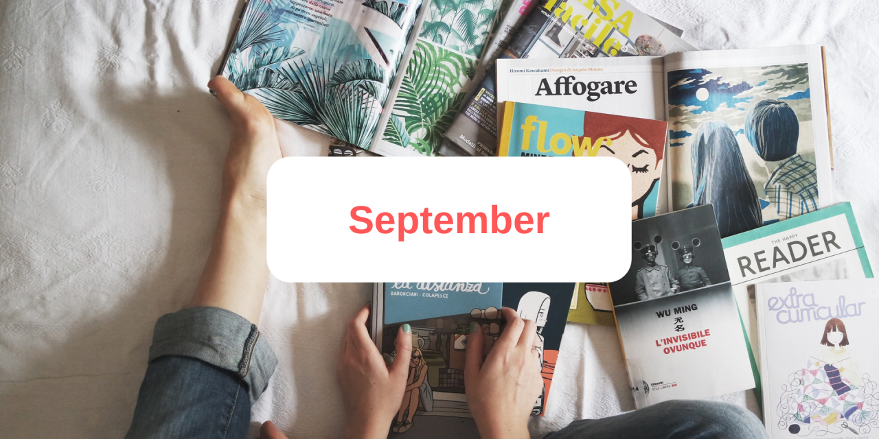 In the press: September 2019
