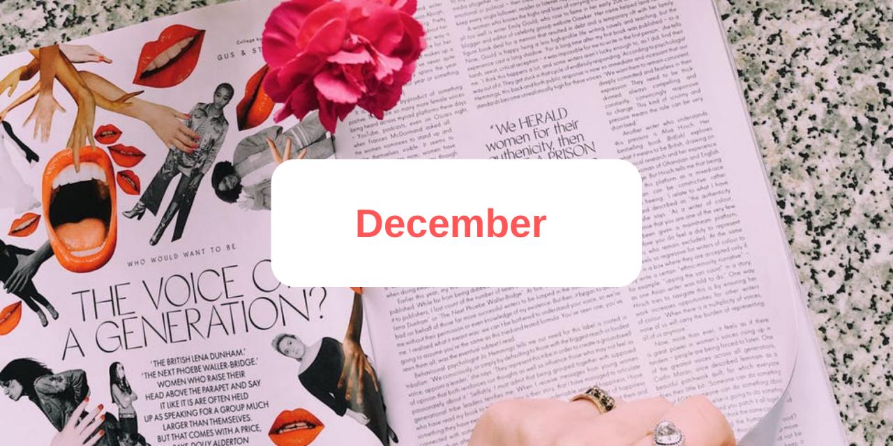 In The Press: December 2019