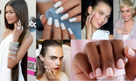 How to: Nail The All-White Mani