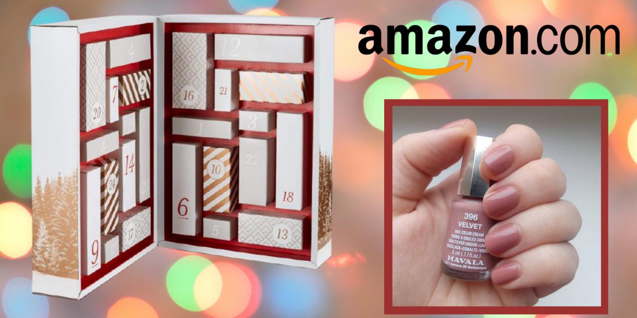 Christmas Countdown: Find Mavala in Amazon Beauty Advent Calendar