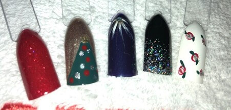 Five Easy Festive Nail Looks to try this Christmas