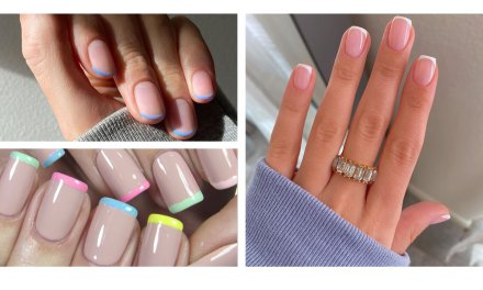 How to perfect the classic French Manicure