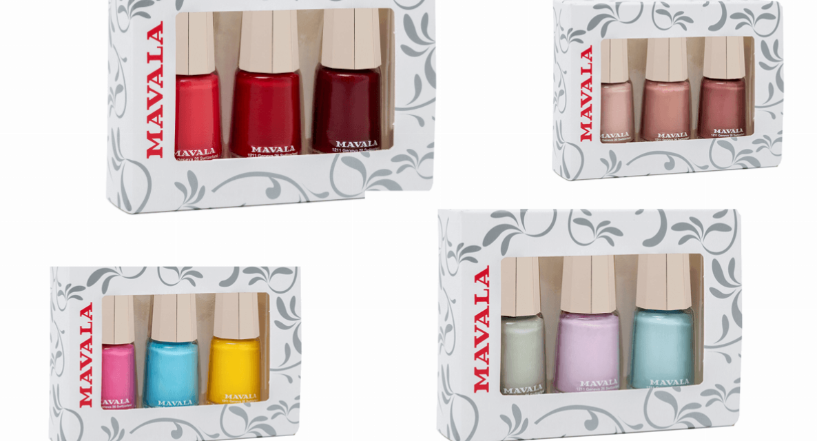 Good Things Come in Threes – NEW Mavala Trios for every occasion