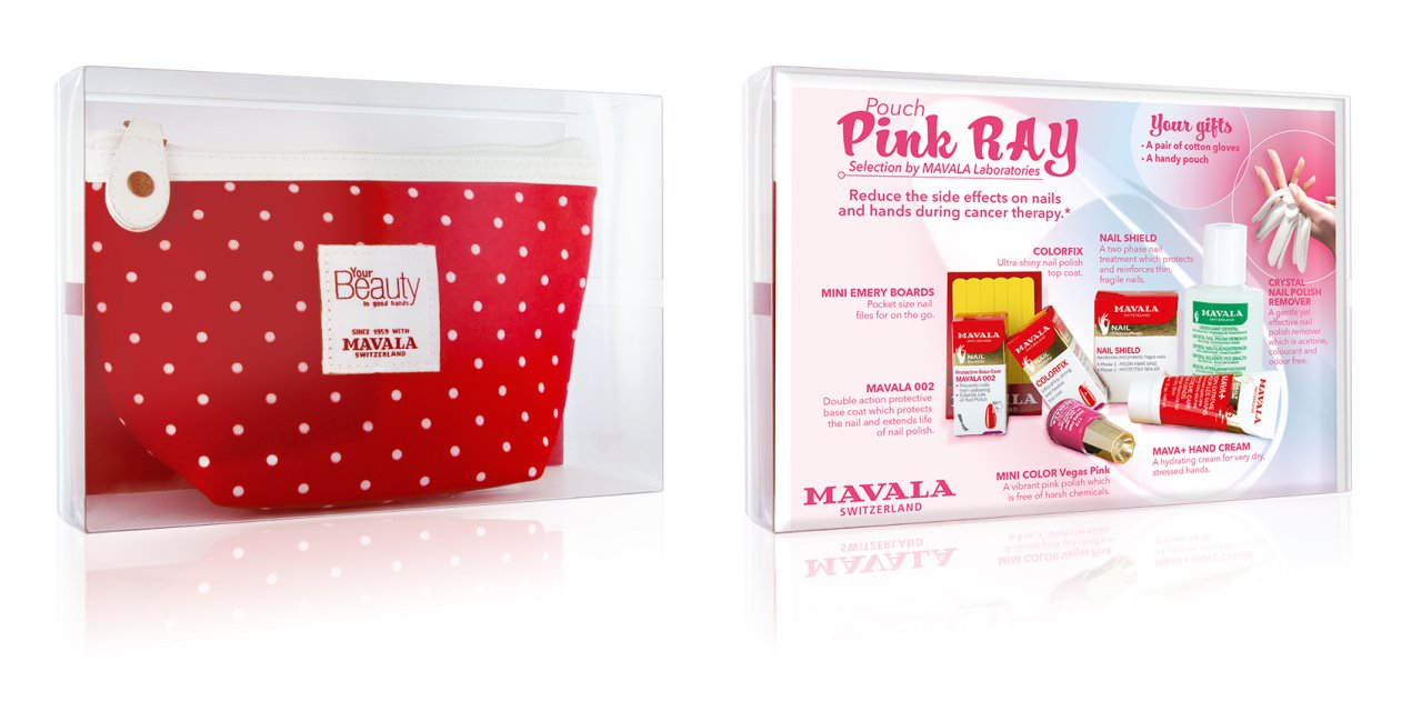 Our NEW Pink Ray Pouch