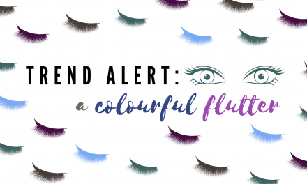 Trend Alert: A Colourful Flutter
