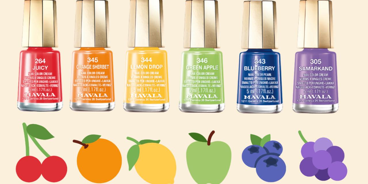 Fruit Bowl Nails
