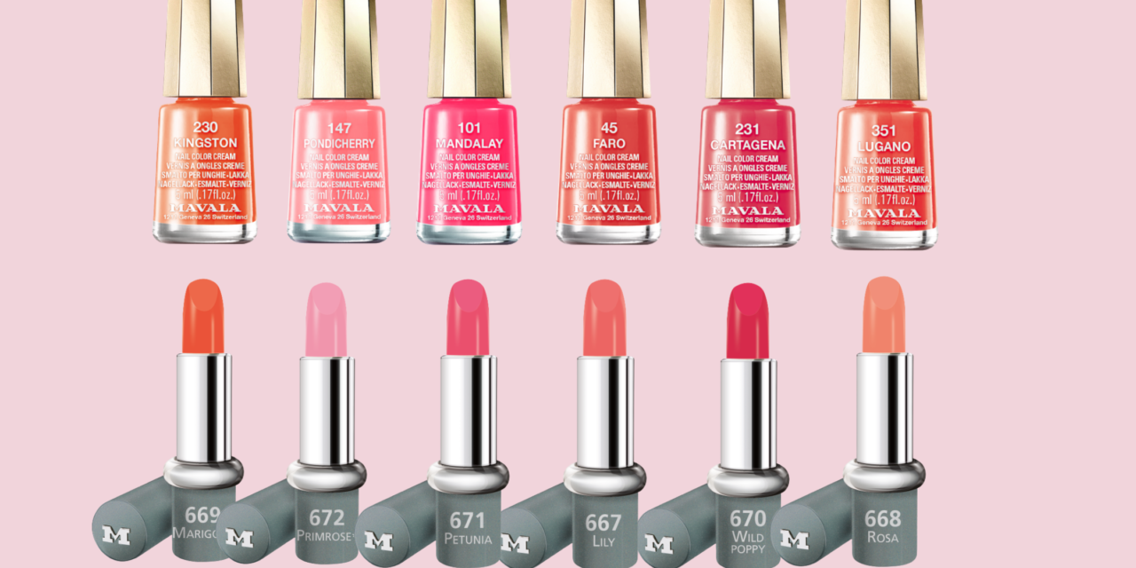 #MavalaMatch Flower Magic and Lip Fantastic – the ultimate nail and lip combos