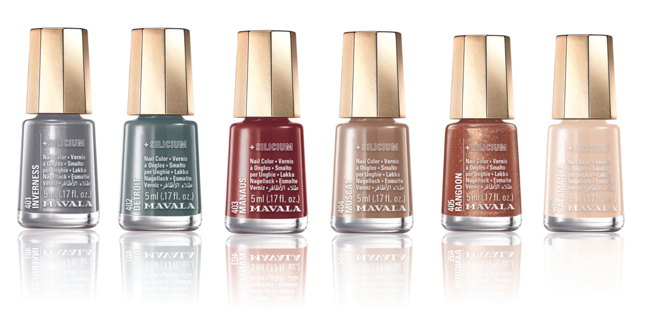 Introducing our NEW '+ Silicium' polishes in the form of A/W21 Iconic Colors Collection